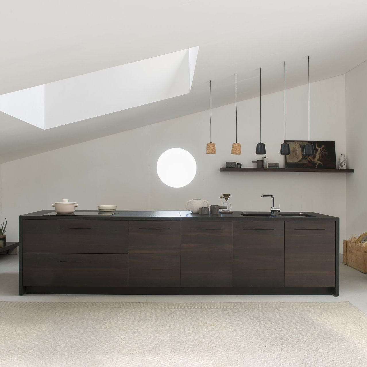 Schiffini Kuche Contemporary Kitchen Wooden Island By Alfredo Häberli