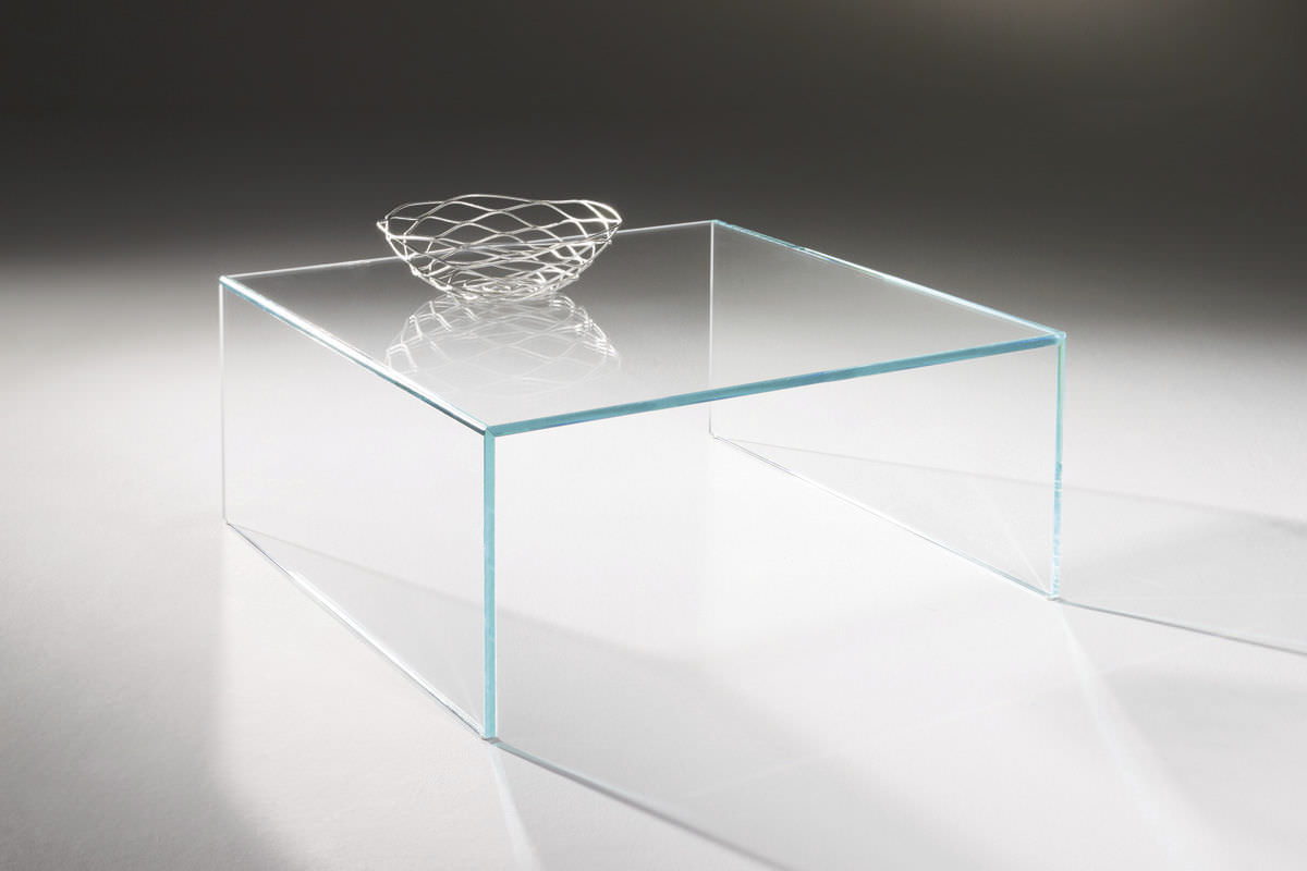 Couchtisch Glass Contemporary Coffee Table Glass Rectangular Square Arcadia