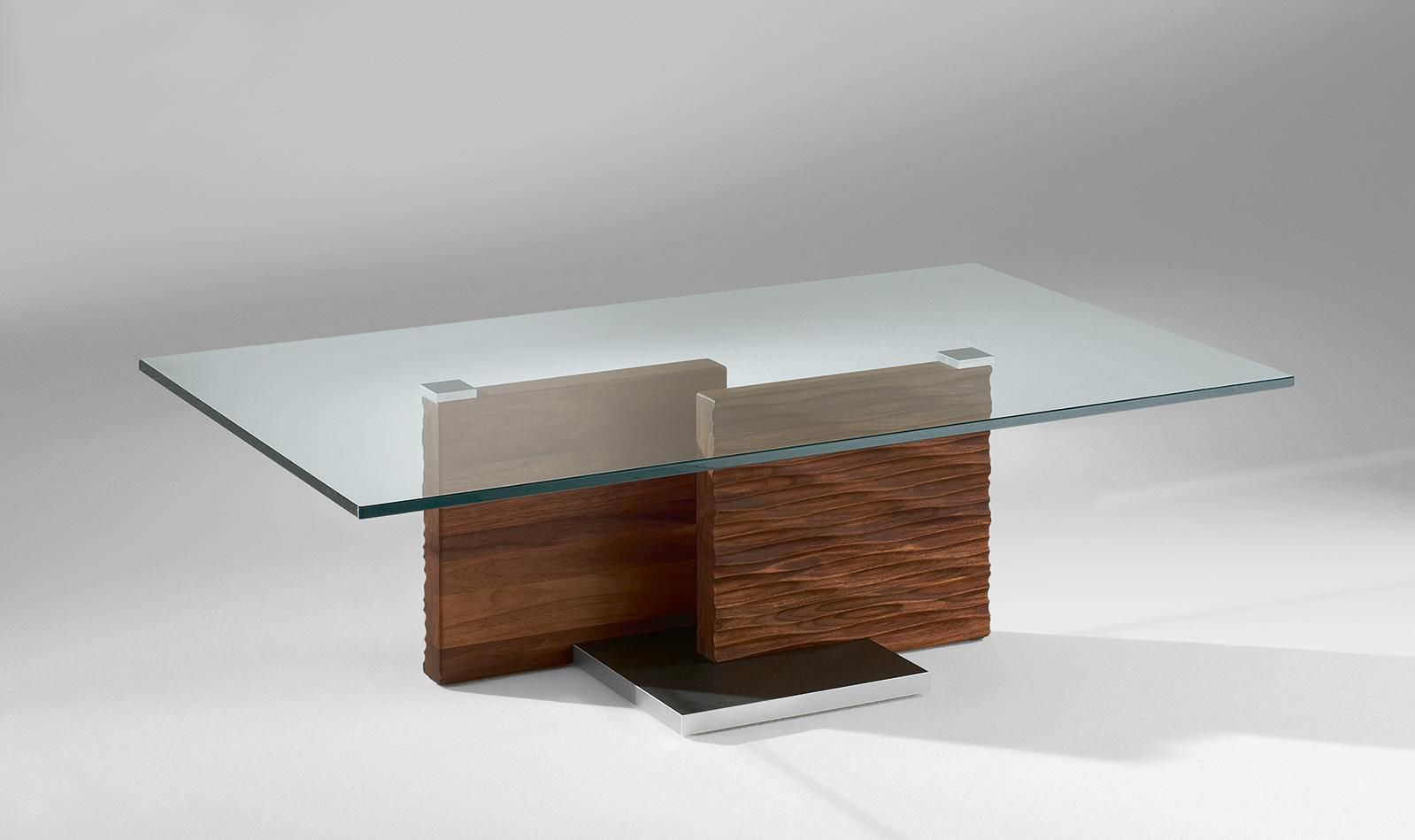 Couchtisch Darkwood Solid Wood Coffee Table Glass Top Glass Design Ideas