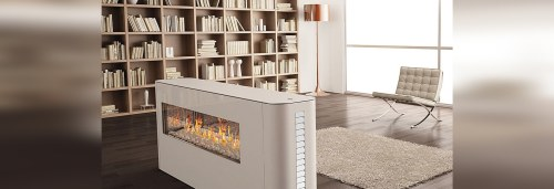 Medium Of Two Sided Fireplace