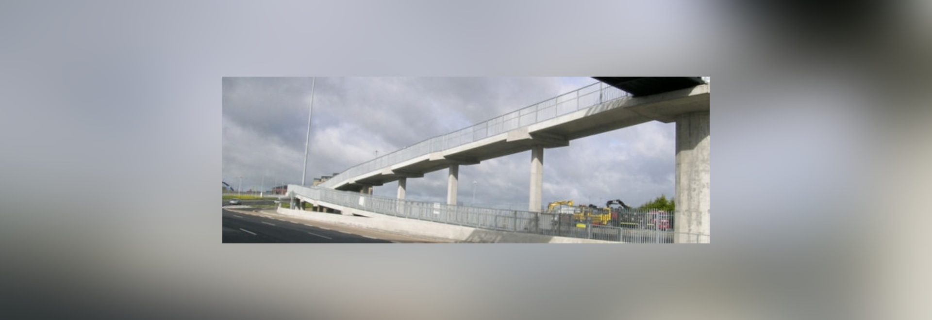 Precast Bridges New Precast Reinforced Concrete Slab For Pedestrian Bridge By