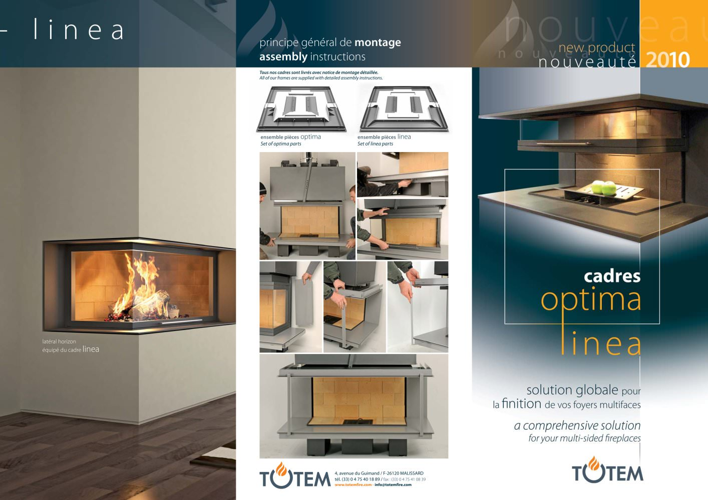 Montage Photo Cadre Multiple Multi Sided Frames Linea Optima Totem Fire Pdf Catalogs