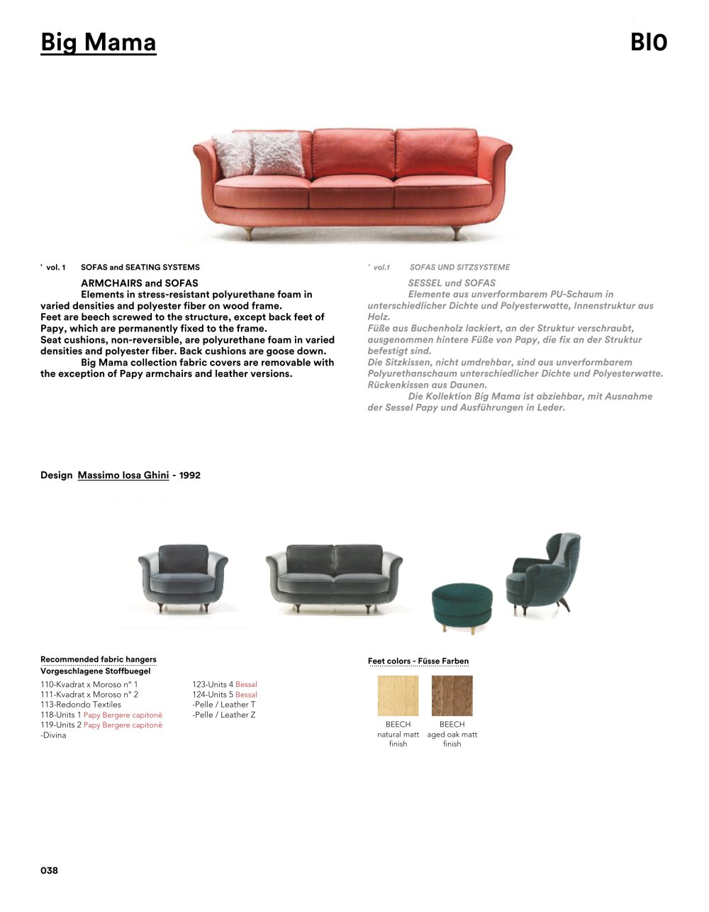 Big Mama Sessel Big Mama Ted Moroso Pdf Catalogs Documentation Brochures