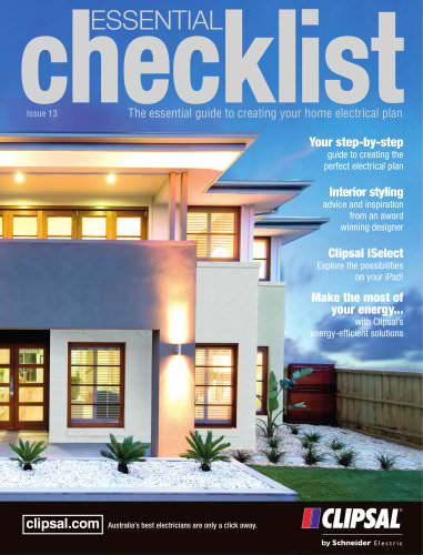2013 Essential Checklist, The essential guide to creating your home