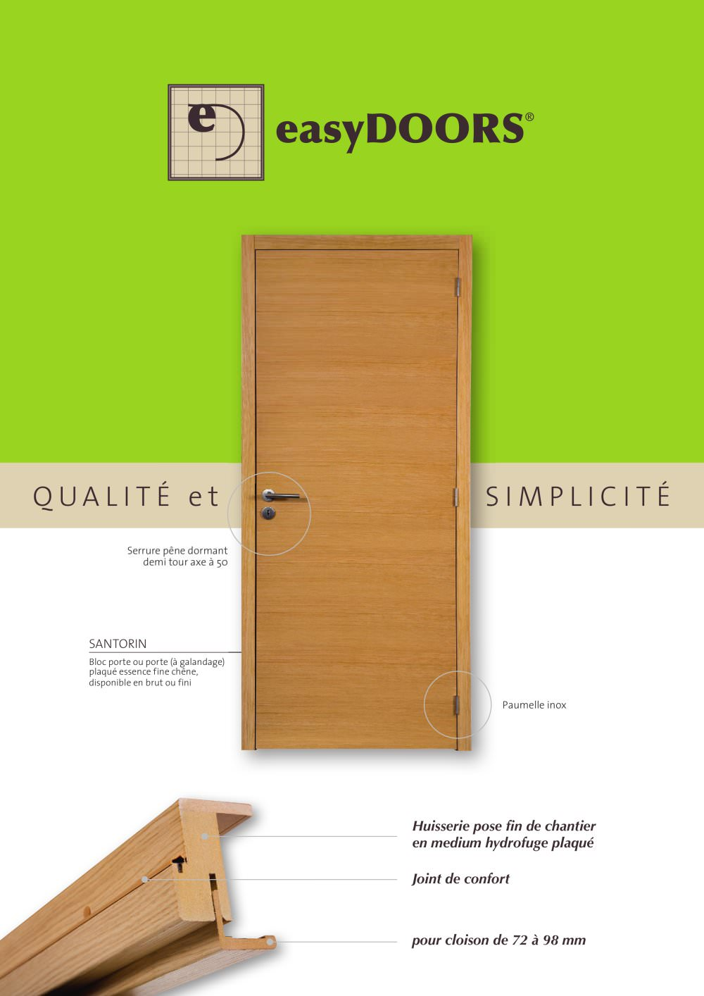 Bloc Porte Inox Easydoors Proboporte Pdf Catalogues Documentation Brochures