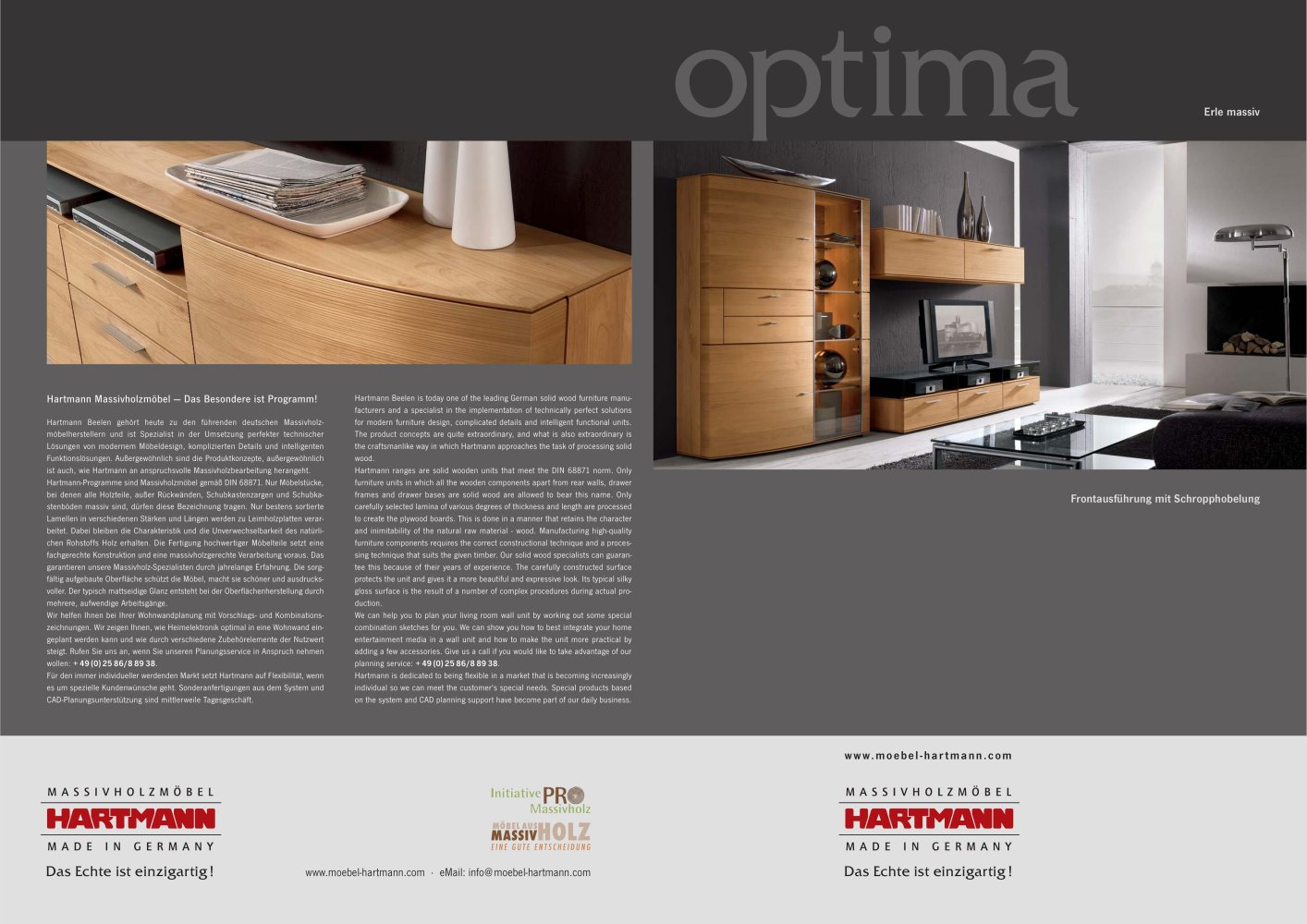 Hartmann Trento Optima Hartmann Möbelwerke Gmbh Pdf Catalogs Documentation