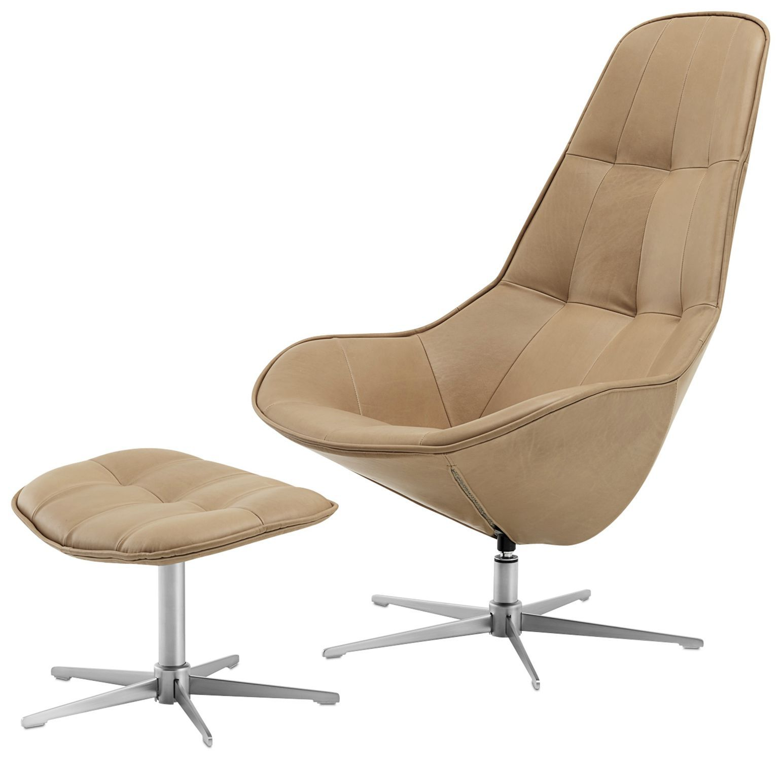 Sessel Boston Moderner Sessel Stoff Leder Stahl Boston Boconcept