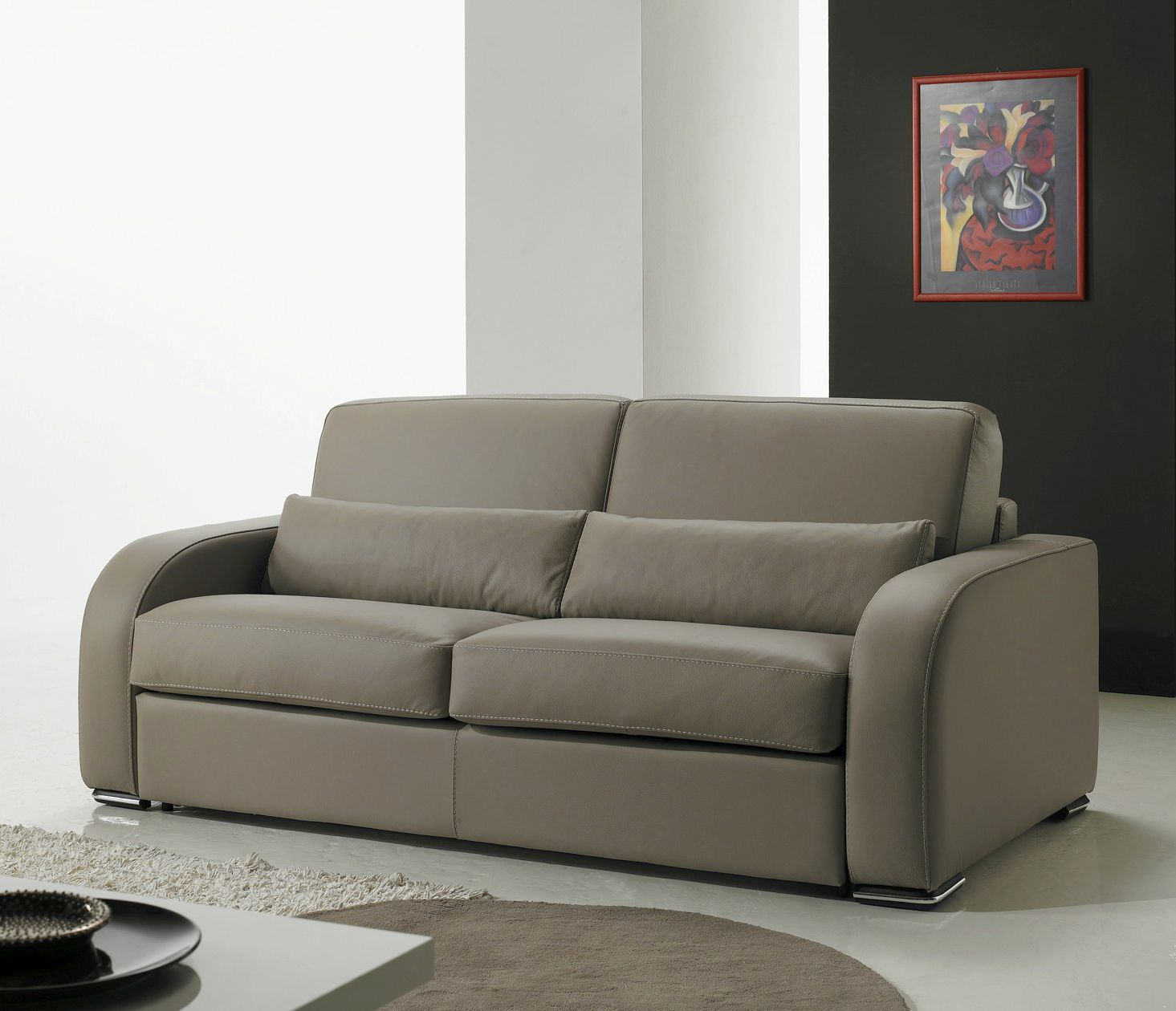 Bettsofa Florida Bettsofa Modern Leder Stoff Florida Very Sofa