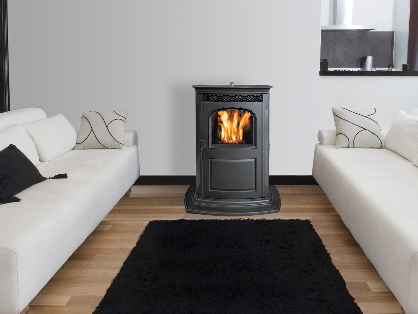 Pellet Kaminofen Wartung Pellets Kaminofen Traditionell Aus Gusseisen Accentra Harman Stoves