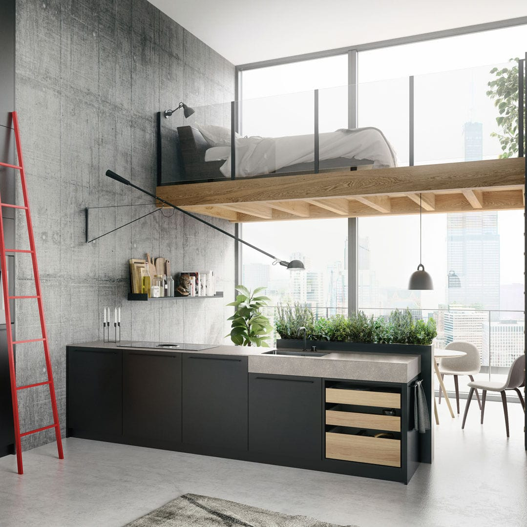 Moderne Kücheninsel Kücheninsel Urban Se 8008 Lm Siematic