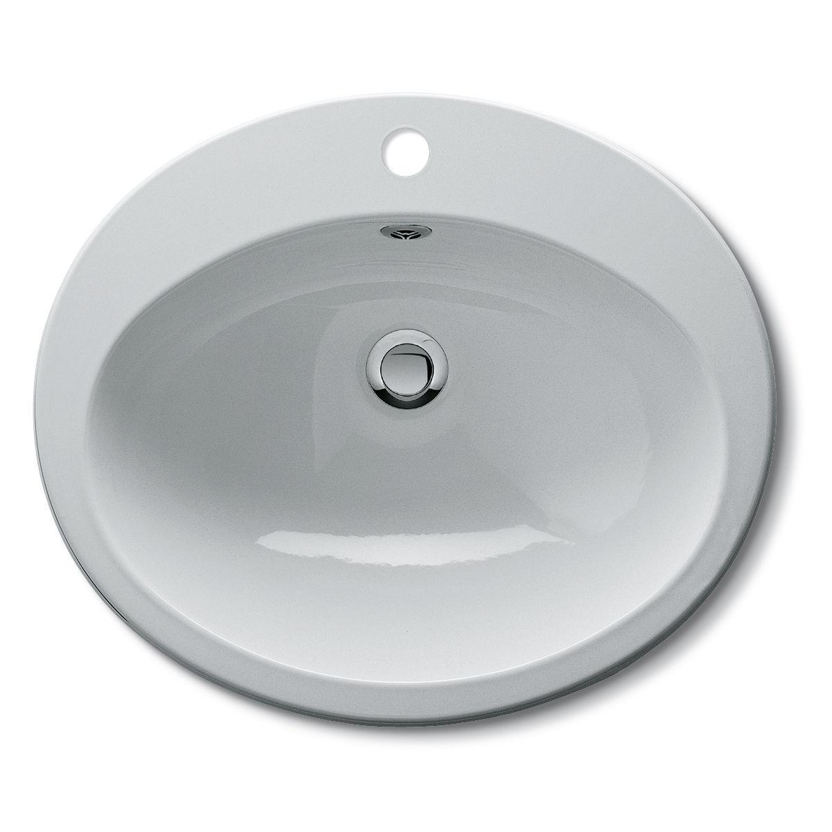Einbauwaschbecken Oval Waschbecken Axent