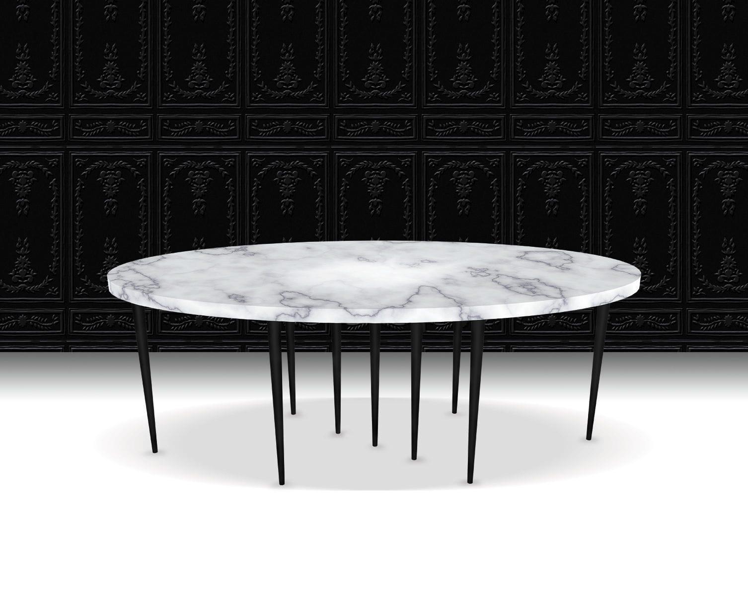 Marmortisch Gewicht 60x110 Marmor Tisch Ws Chr Von Rge Online