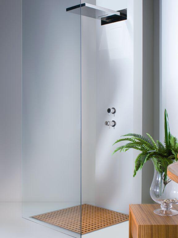 Einhebelmischer für Duschen \/ Einbau \/ Edelstahl \/ für Badezimmer - badezimmer einbau
