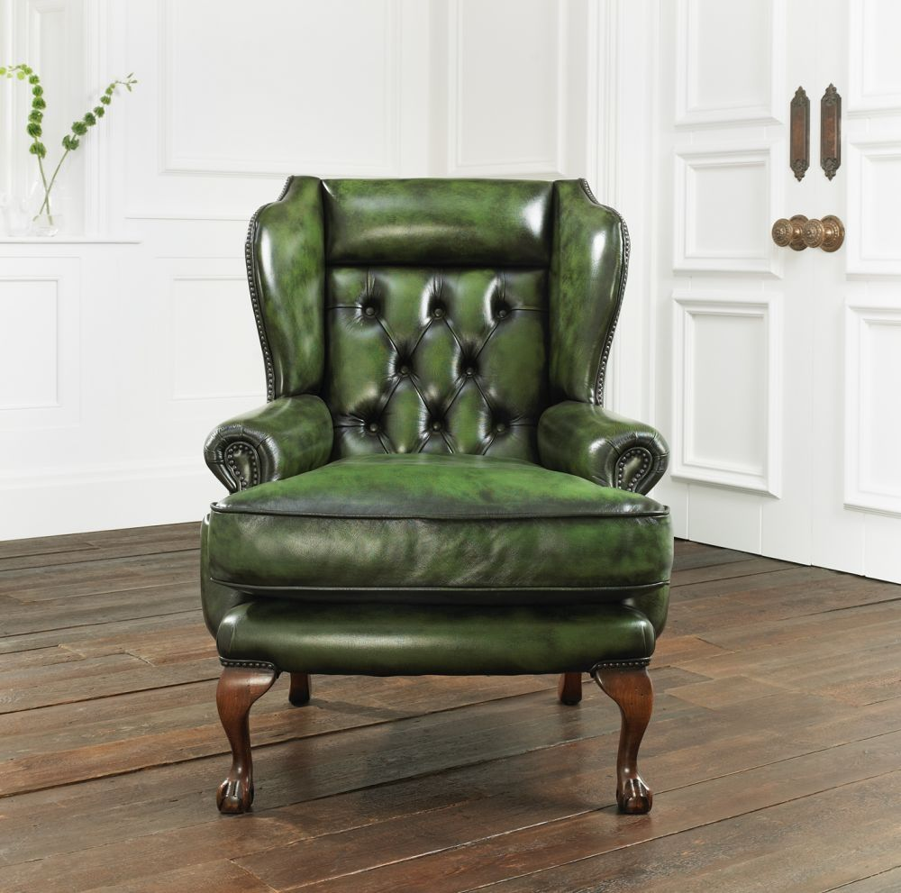 Chesterfield Ohrensessel Leder Chesterfield Sessel Leder Osborne Distinctive Chesterfields
