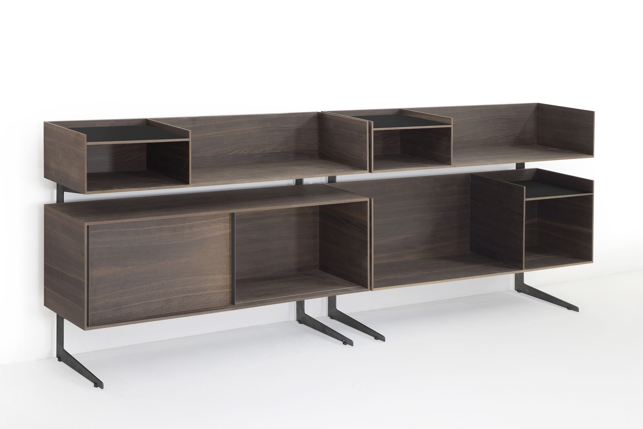 Sideboard Holz Metall Modernes Sideboard Holz Metall Court Yard By Francesco Rota