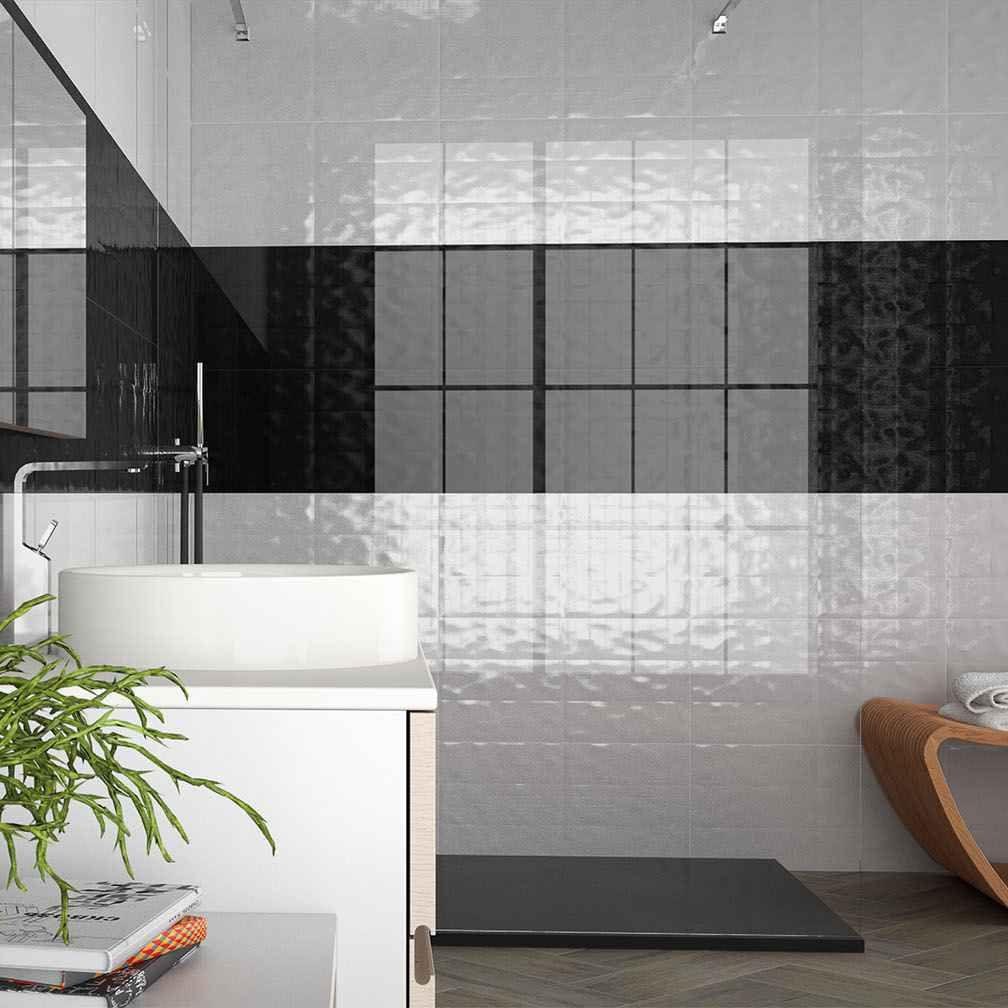 Metallic Fliesen Badezimmer | Love Tiles Metallic Günstig Bei ...