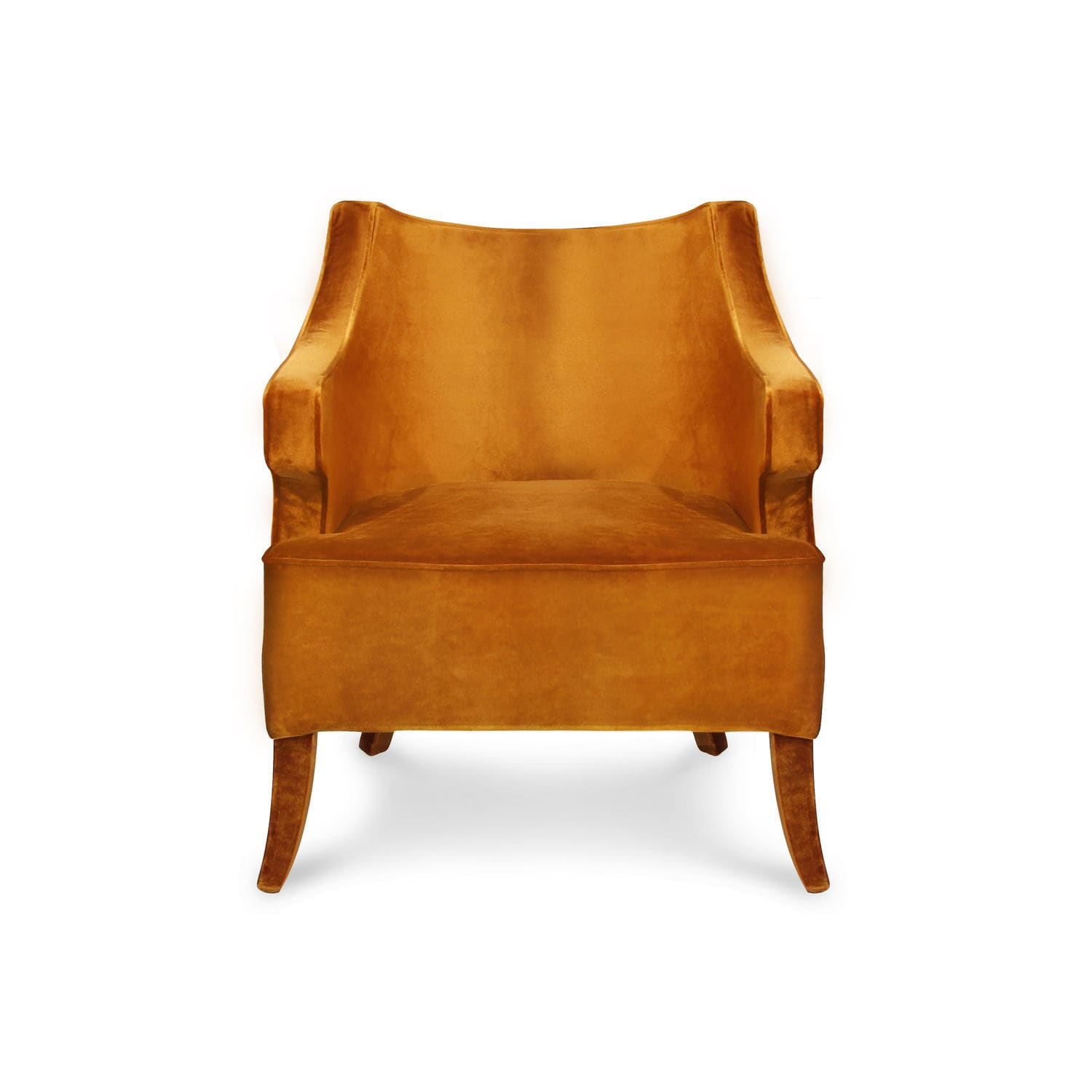 Designer Sessel Orange Moderner Sessel Samt Orange Java Brabbu Design Forces