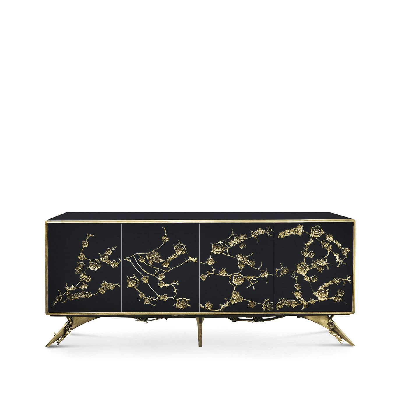 Sideboard Schwarz Holz Spellbound Neobarock Sideboard Holz Messing Schwarz By Koket Love Happens Archiexpo