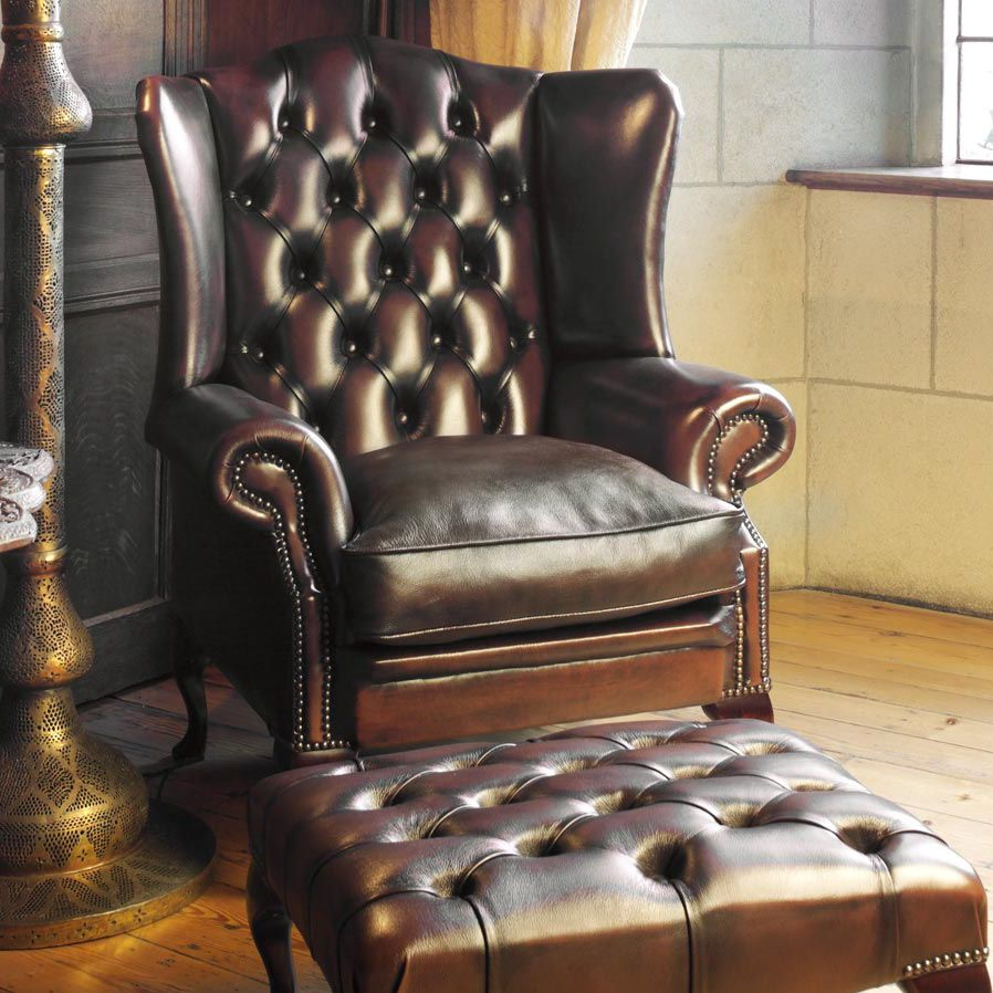 Sessel Chesterfield Chesterfield Sessel Leder Ohren Stamford Fleming Howland