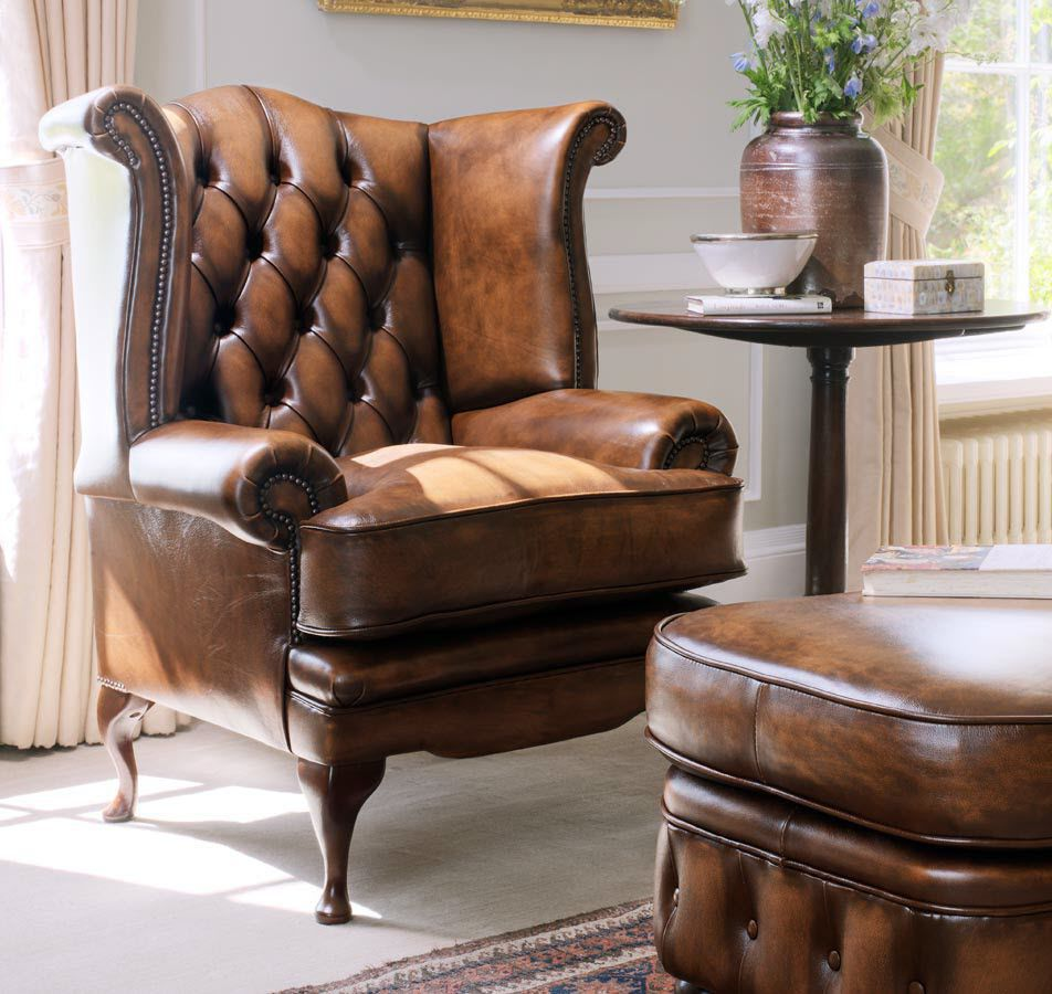Chesterfield Ohrensessel Leder Chesterfield Sessel Leder Ohren Edward Fleming Howland