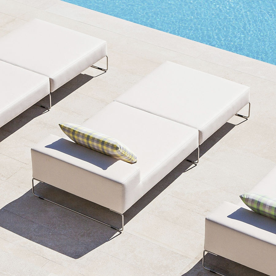 Die Gepolsterte Sonnenliege Jamster April Furniture