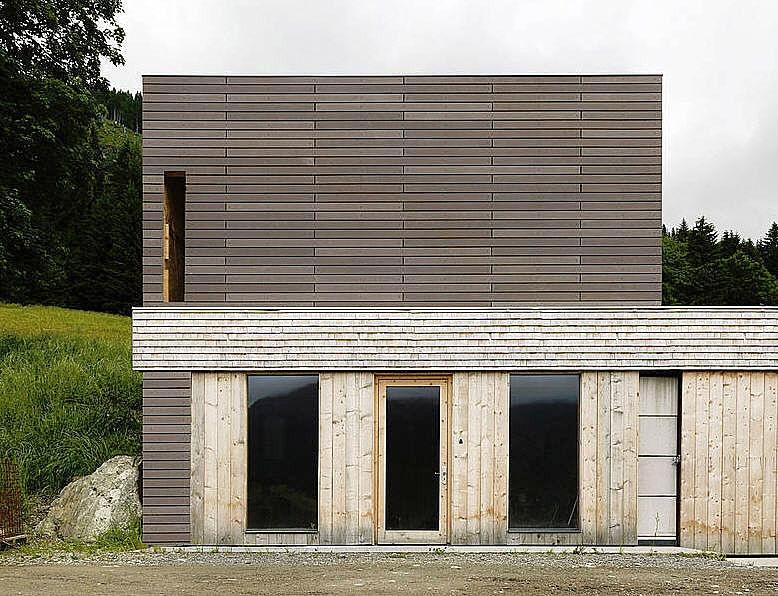 öko skin u2013 nie mehr die Fassade streichen! - Rieder Smart Elements - fassade streichen