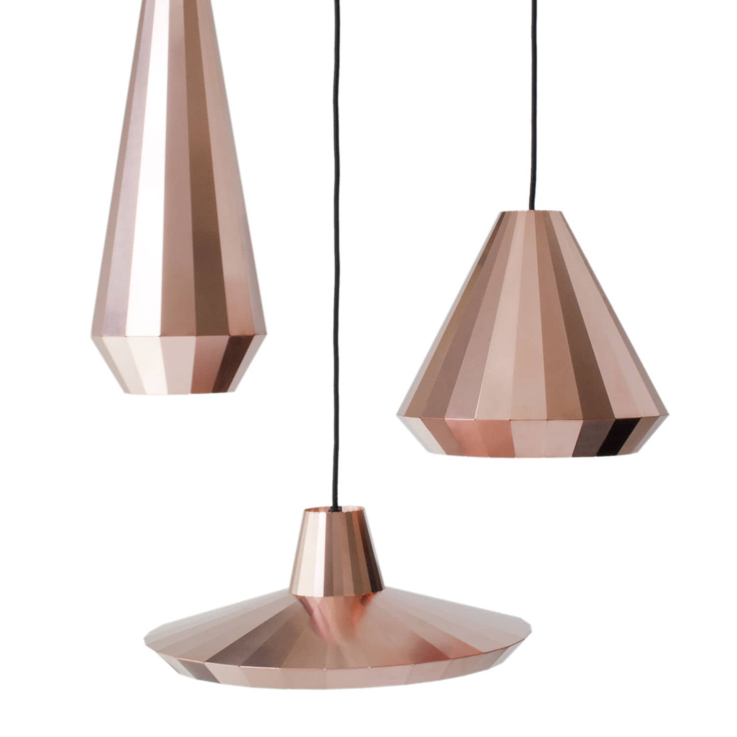 Lampe Suspension Cuivre Suspension Contemporaine En Laiton En Cuivre