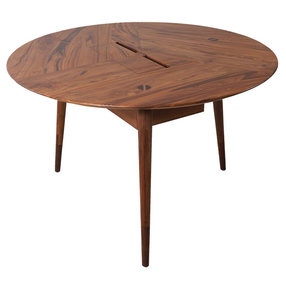 Table En Teck Ronde Table Contemporaine En Teck Ronde Professionnelle Tripadi