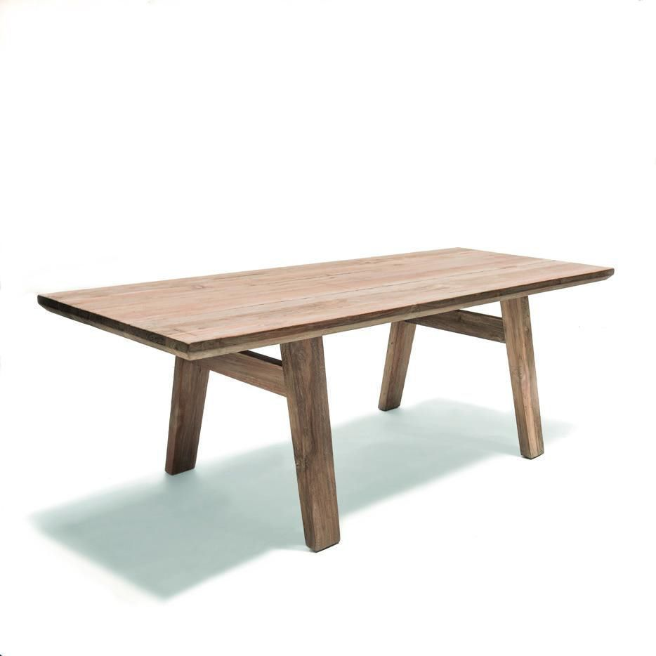 Table à Manger De Jardin | Table à Manger Design Scandinave Élégant ...