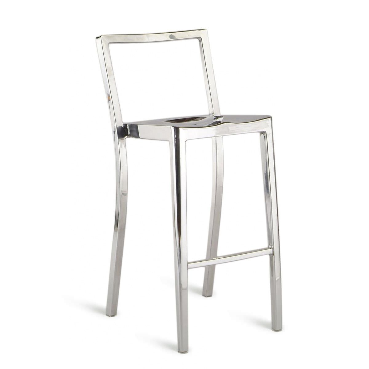 Tabourets Bar Empilables Tabouret De Bar Contemporain En Aluminium Professionnel