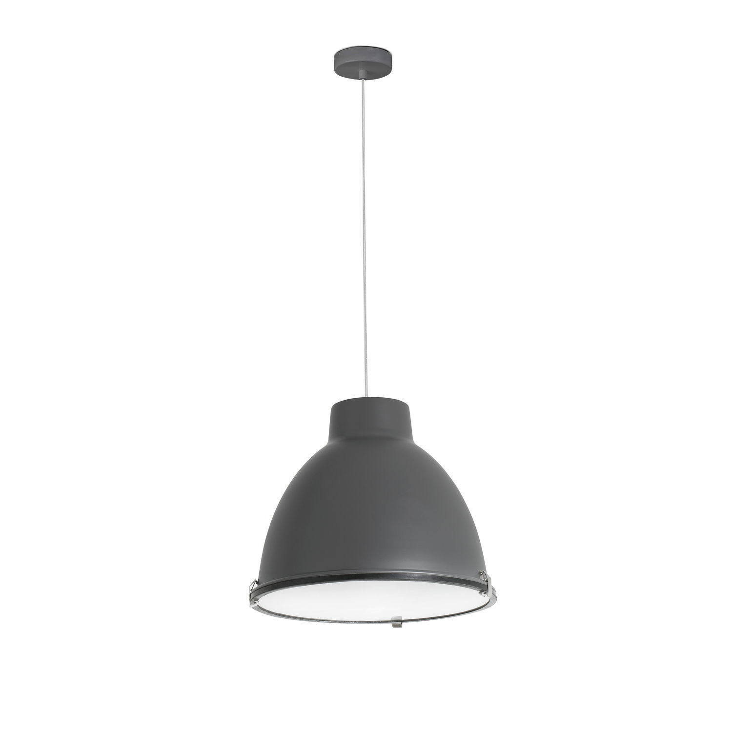 Lampe Suspension Style Industriel Suspension De Style Industriel En Acier En Verre