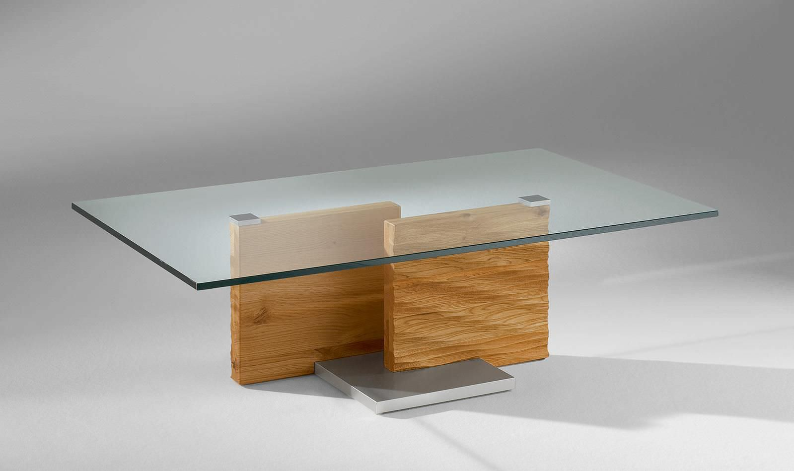 Table Basse Bois Verre Design Table De Salon Contemporaine En Verre Table Basse Ronde Bois Metal
