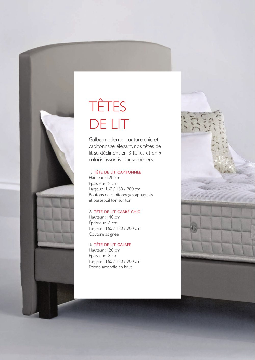 Tete De Lit Hauteur Têtes De Lit Epeda Catalogue Pdf Documentation Brochure