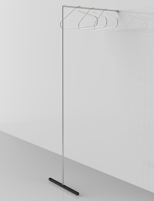 Appendi Grucce Da Muro.Stender A Muro Tubo Acciaio Inox Leroy Merlin Fresco Stender Porta