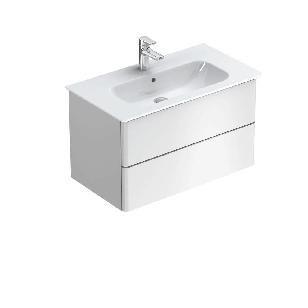 Lavabi Appoggio Ideal Standard Mobile Lavabo Sospeso In Mdf Moderno Softmood Ideal