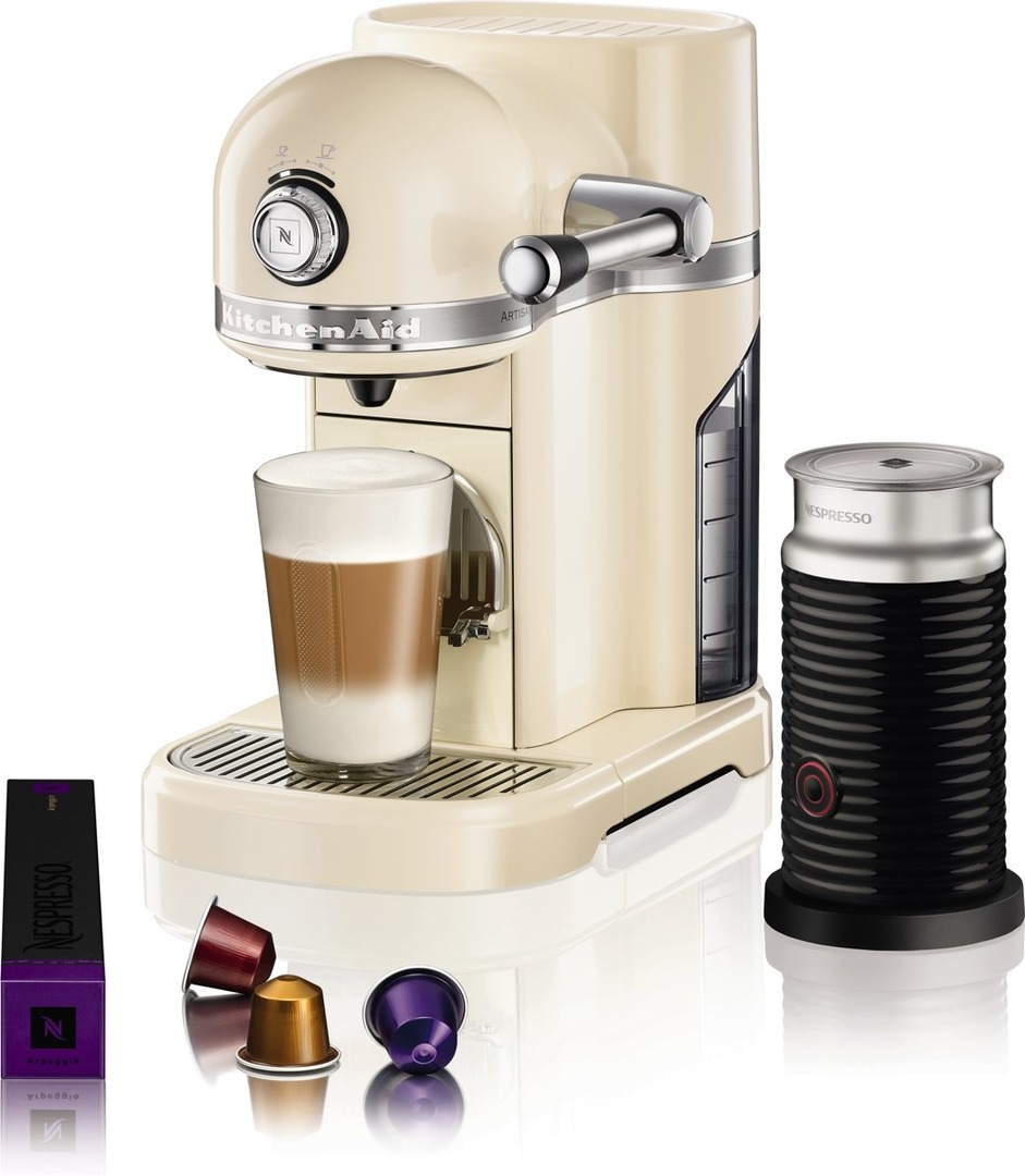 Nespresso Goedkoop Kitchenaid Nespresso Aeroccino Wit 5kes0504ems Art Craft