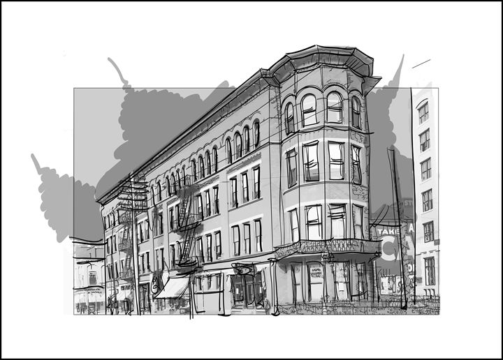 Southern Express Company Building - Picnooga - Drawings