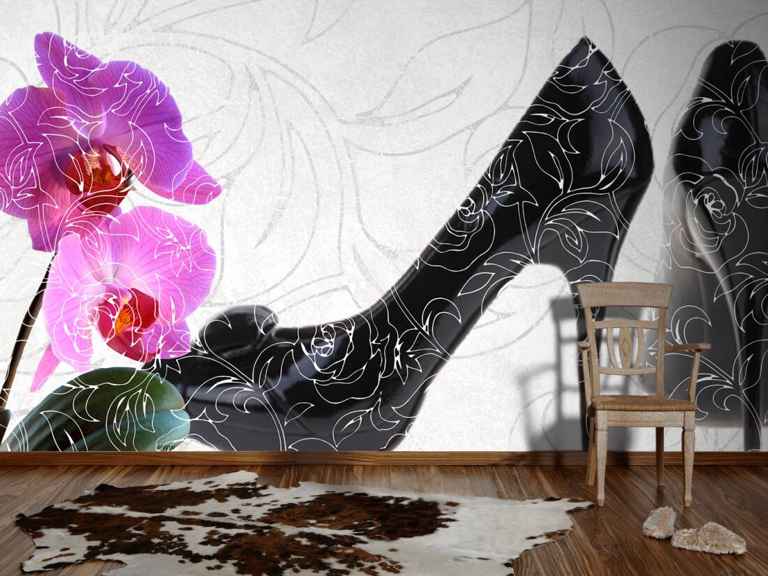 Www As Creation De Livingwalls Photo Wallpaper «high Heel» 034050