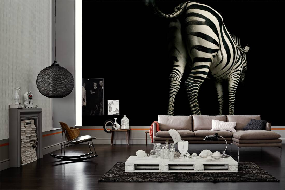 Zebra Bilder Wohnzimmer Architects Paper Photo Wallpaper Zebra 470039