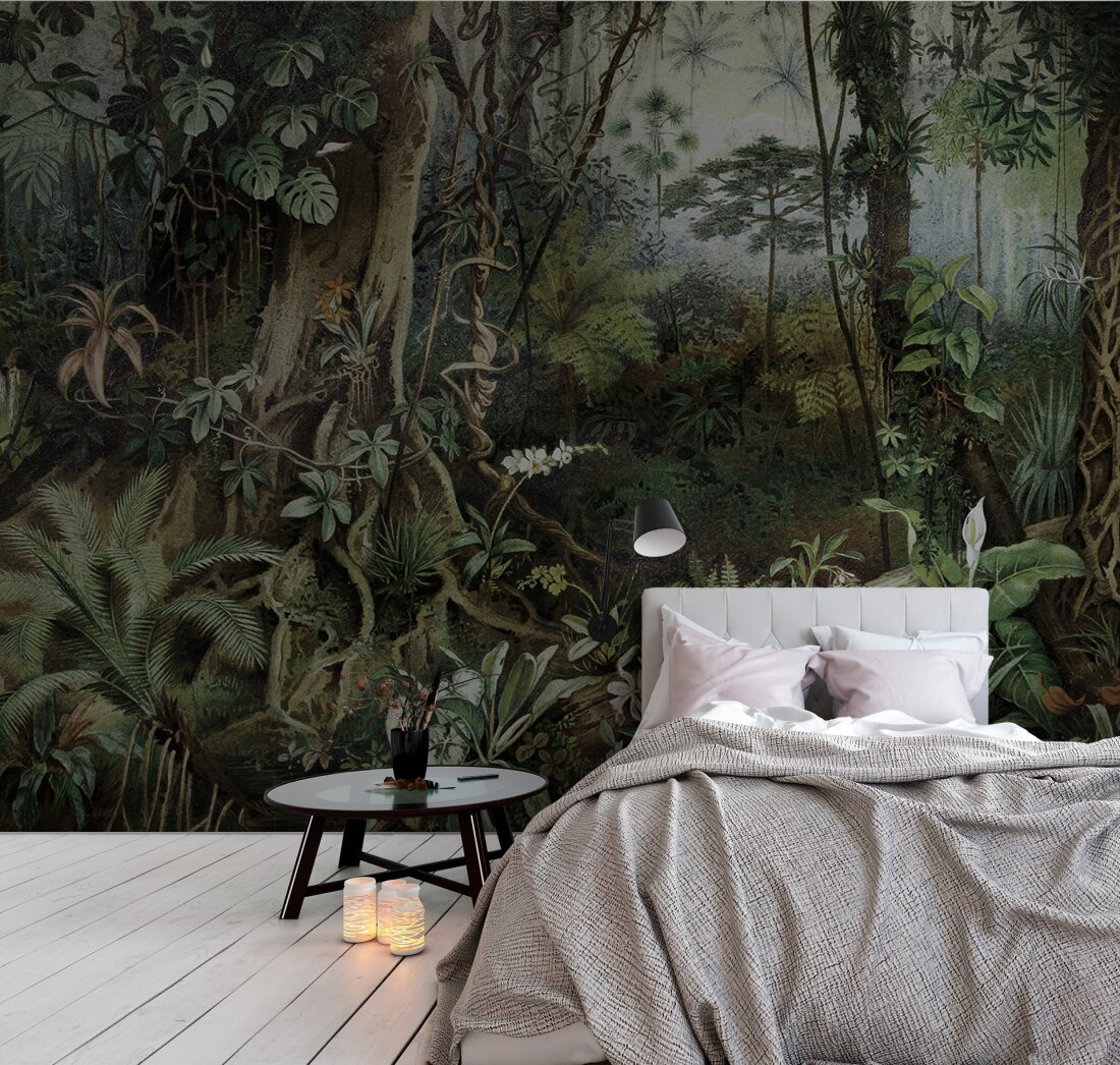 Www As Creation De Kathrin Und Mark Patel Photo Wallpaper «jungle 2» Dd110696