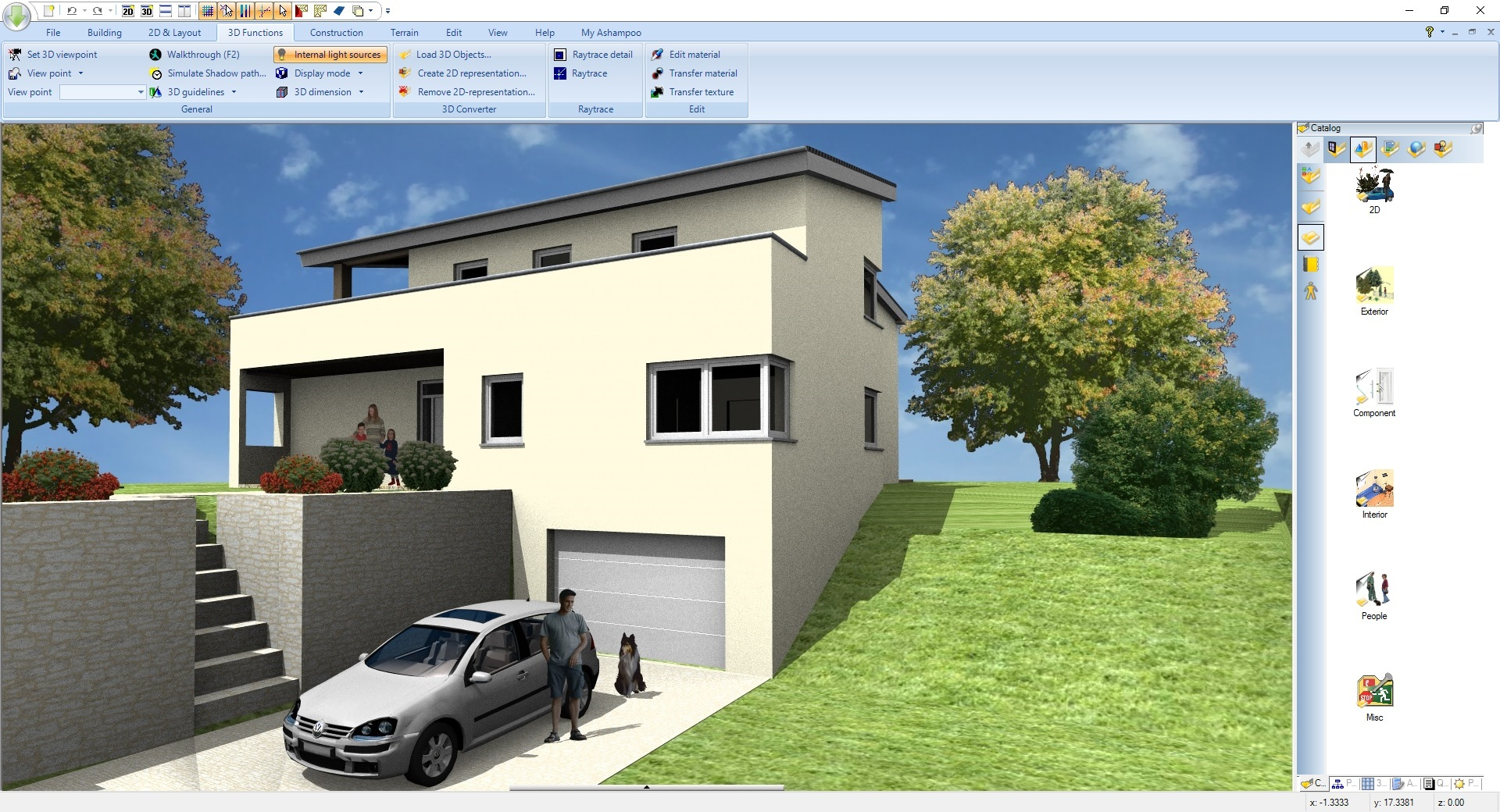 Hausplaner Software Test Ashampoo Home Design 5 2d 3d Hausplaner Software