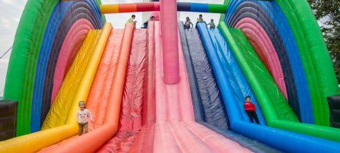 |限定活動|ART-ZOO藝術動物園,繽紛氣墊遊樂園,讓我們一起來離開地球表面