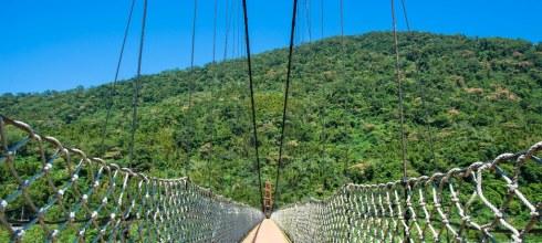 |新竹‧尖石|北角吊橋*擁抱大自然,就算有懼高症還是要走一次北台灣第一長的吊橋