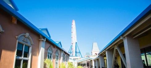 |台中‧后里|麗寶Outlet*全台最大摩天輪、中台灣最大的Outlet Mall,旁邊還有遊樂場