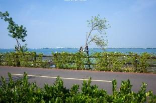 Pingtung 屏東‧東港 來大鵬灣走走,時間到還能看跨海大橋開橋,現在只有每週六開一次喔!