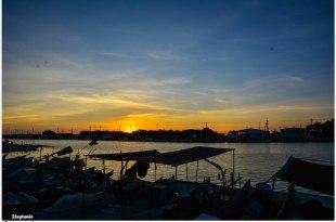 |高雄‧彌陀|吹著海風,好舒服啊!南寮漁港海岸自行車步道