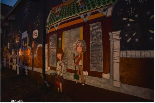 Tainan|台南‧鹽水|越夜越美麗*月津港