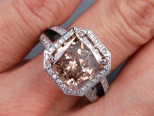 562 Carats Ct Tw Radiant Cut Diamond Engagement Ring