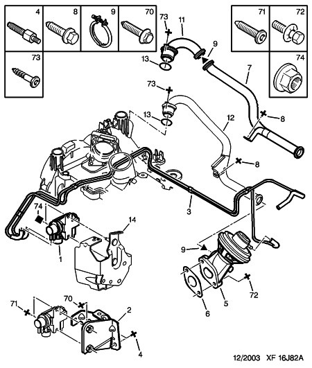 diagram of peugeot 307 engine