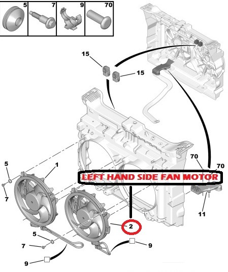 schema motor peugeot 407 1.6 hdi